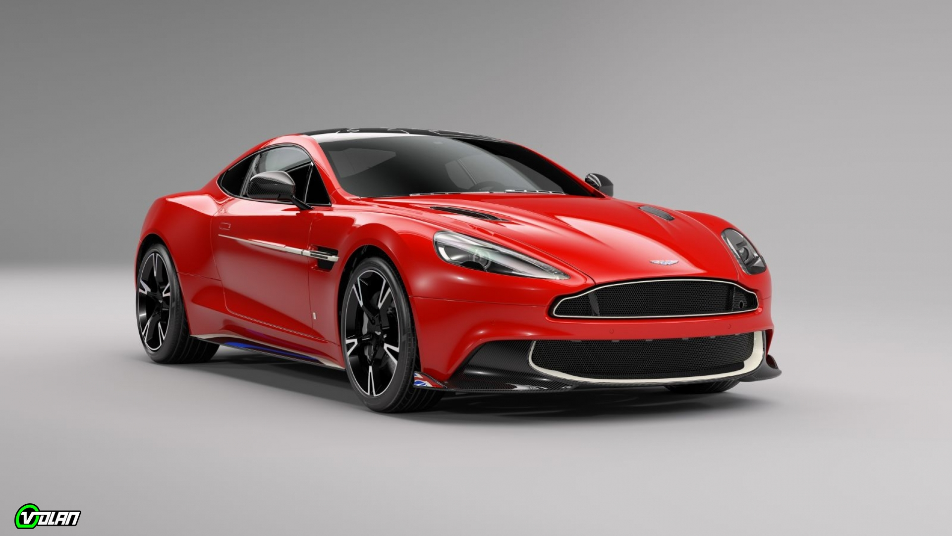 Aston martin vanquish S red arrows edition Zgolj deset primerkov