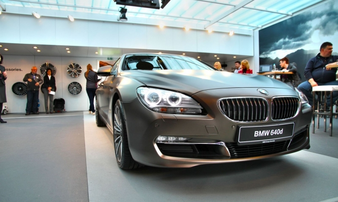 BMW 6 gran coupe & joy drive tour