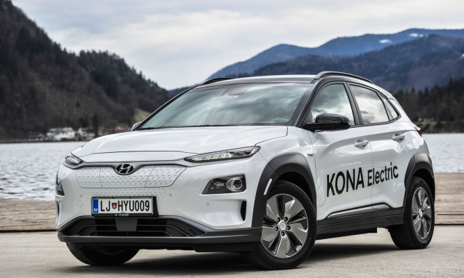 Hyundai kona electric 64 kWh impression