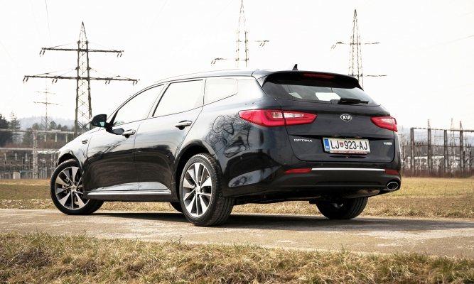 Kia optima SW in PHEV
